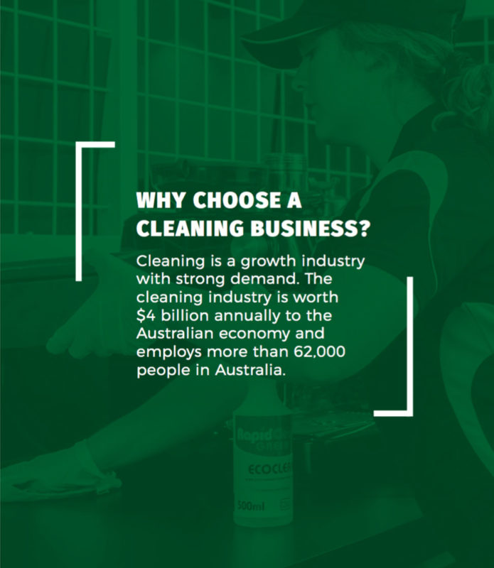 why choose a cleaning business?